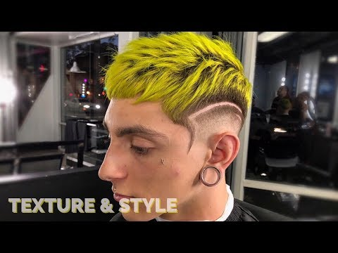 HAIRCUT TUTORIAL: TEXTURED STYLE + DESIGN BY CHUKA THE BARBER