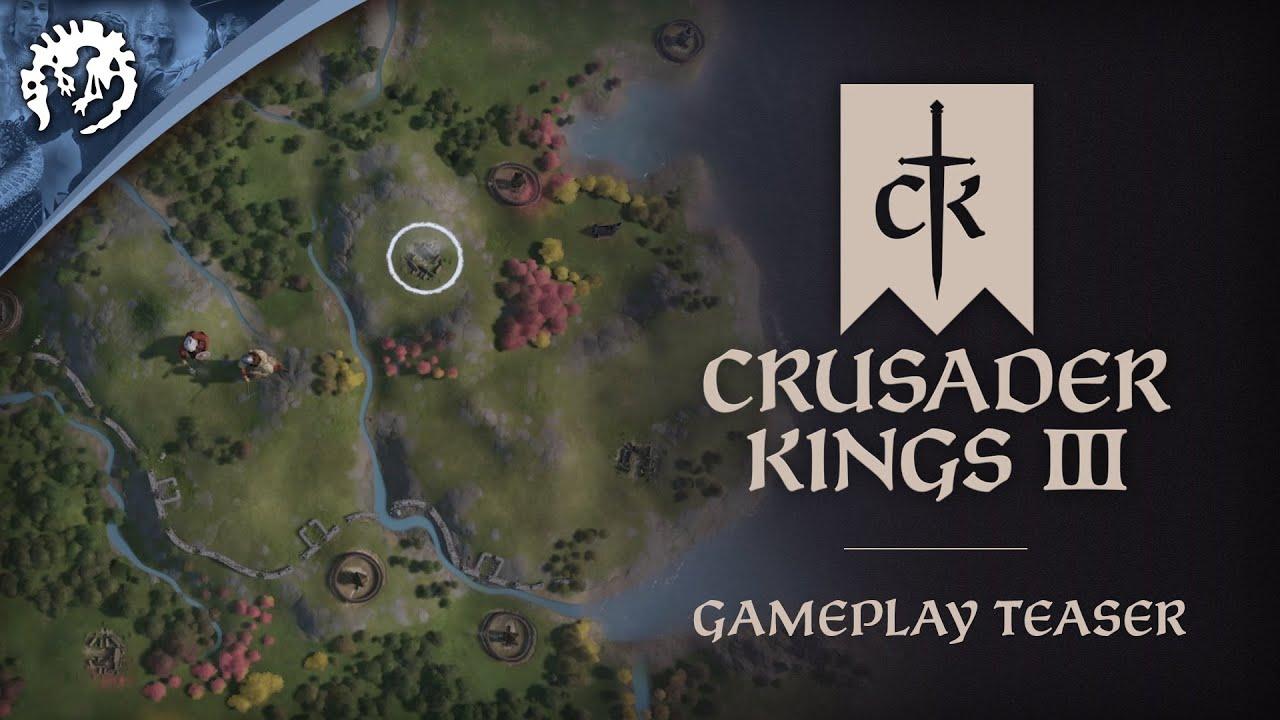 Геймплейный трейлер игры Crusader Kings III