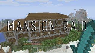 Minecraft Woodland Mansion Raid Gone Wrong
