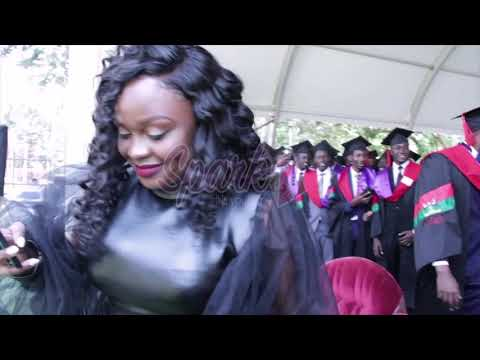 MC Kapale congratulates Dr Ssebunya upon completing his studies