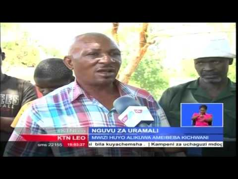 Maajabu ya Uganga: Televisheni yakwama kichwani mwa mshukiwa wa wizi Teso