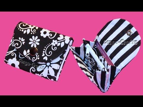 Kleiner/Mini Geldbeutel - mini purse DIY