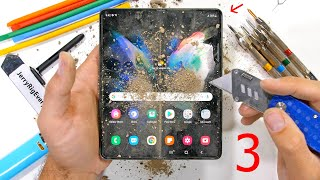 Is the Samsung Galaxy Z Fold3 5G really 80% Stronger? - Durability Test!