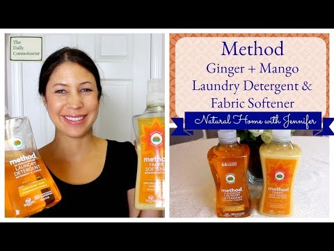 Method Ginger + Mango Laundry Detergent | Natural Home with Jennifer