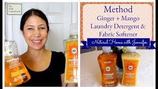 Method Ginger + Mango Laundry Detergent | Natural Home With Jennifer