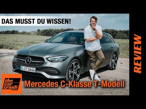 Mercedes C-Klasse T-Modell (2021) So viel kann der Mittelklasse-Kombi! Fahrbericht | Review | Test