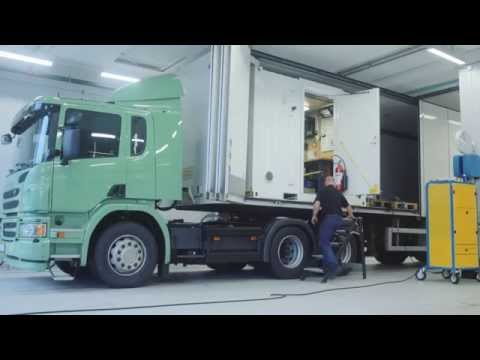 Scania tests emissions in real time