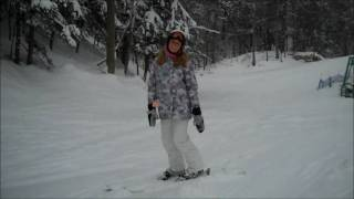 Claire Gives A Ski Jump Tutorial