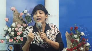 29-06-16 Bible Study On Sanctification Series By Pastor Pramila Jeyaraj