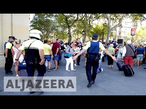 Van ploughs into Barcelona crowd killing at least 13