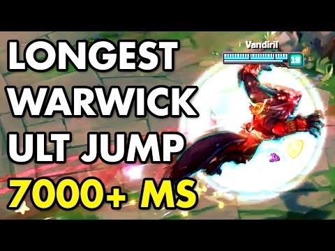 新沃維克 跳最遠的大絕 7000+跑速