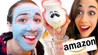 TESTING THE WEIRDEST AMAZON PRODUCTS!