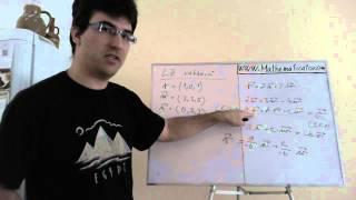 Lineární závislost a nezávislost vektorů - jak na to a příklad