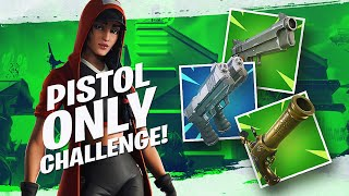 INSANE PISTOL ONLY CHALLENGE! *11 KILL WIN*