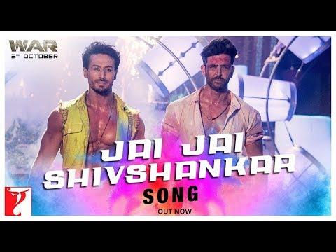 Jai Jai Shivshankar Song - War   Hrithik Roshan and Tiger Shroff dance off to a new Holi song