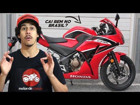 CAI BEM? HONDA CBR 300R 2018 CAIRIA BEM NO BRASIL? - Motorede
