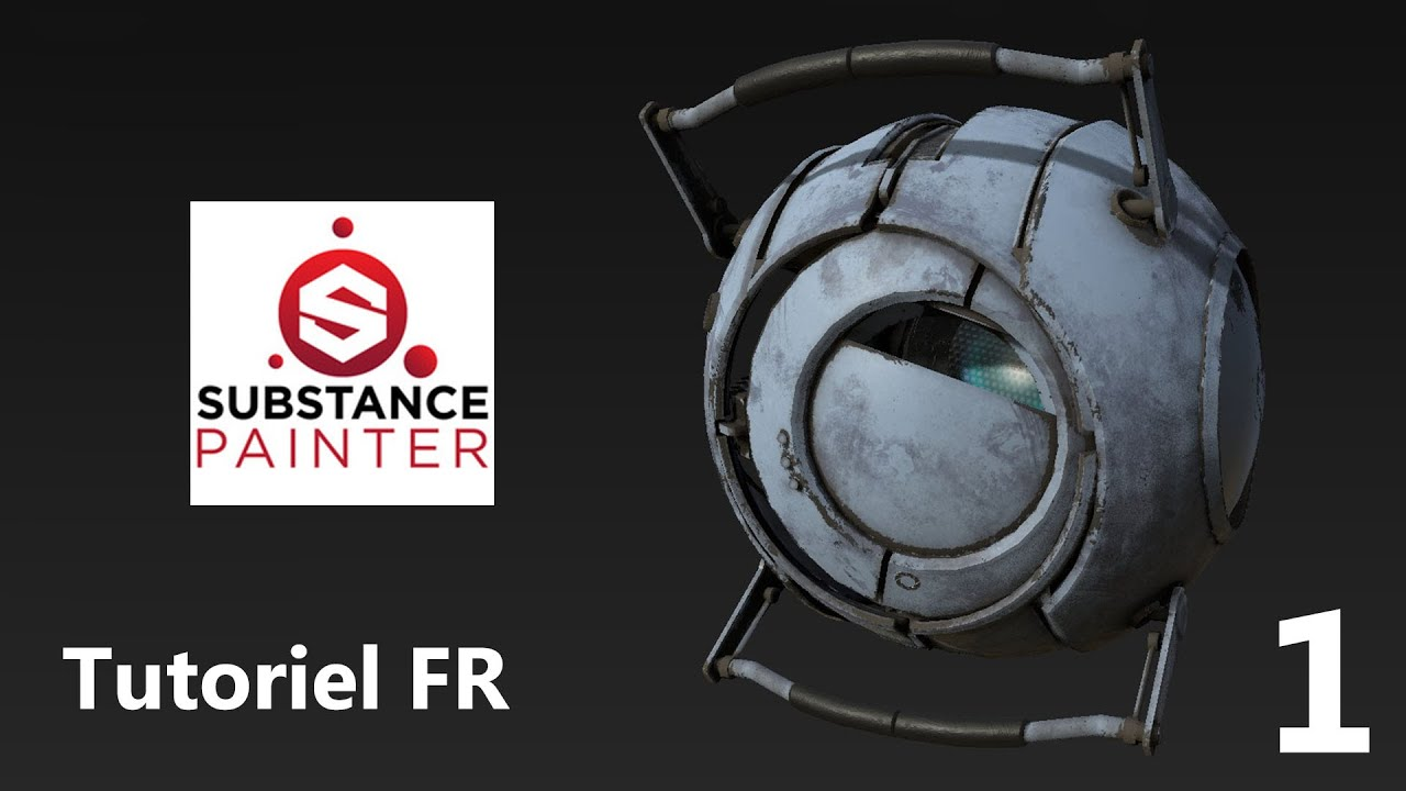Tutoriel FR Substance painter - Débutant / Quickstart Partie 01