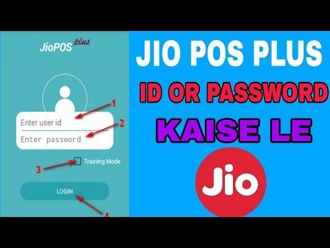 How to create jio pos plus id or password | - Technical Ak