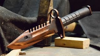 M9 Bayonet CS:GO - Knife Making