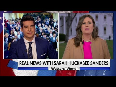 Sarah Sanders: 'Laughable' for Obama to Try to Take Credit for Economy