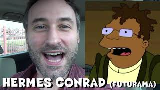 365 Days of Character Voices - HERMES CONRAD - Futurama (DAY 334)