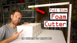 Foam Cutter   How To Make It The Easy Way!