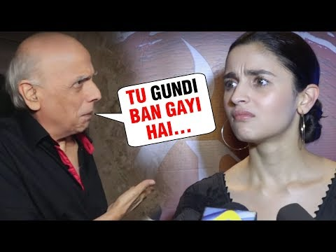 Mahesh Bhatt SHOCKING REACTION On Daughter Alia Bh