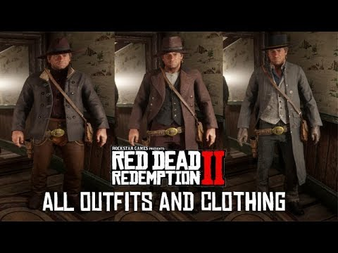 Red Dead Redemption 2 - Valentine General Store OUTFITS & CLOTHING