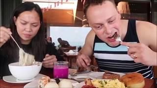 Vlog 282 ll Ăn Sáng Ở Khách Sạn 5 Sao Bali Indonesia Có Gì ??