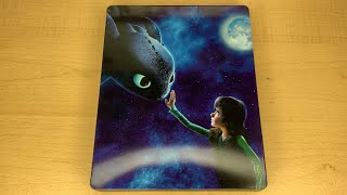 How to Train Your Dragon - Best Buy Exclusive 4K Ultra HD Blu-ray SteelBook Unboxing