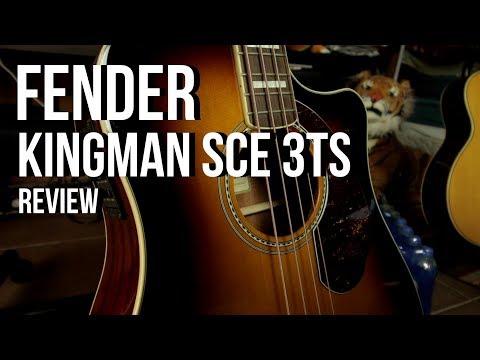 NUEVO BAJO ACUSTICO - FENDER Kingman SCE 3TS - REVIEW