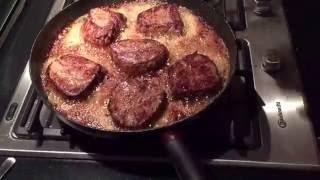 Ossenhaas, tournedos of biefstuk bakken hoe doe je dat?