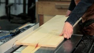 How to Use a Table Saw | Woodworking