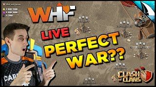 *PERFECTION??* Can I Help Get a Perfect War?!? | Clash of Clans