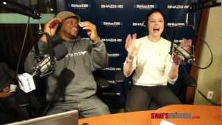 "Rachel Nichols Raps to Eminem's ""W.T.P"" on #SwayInTheMorning"