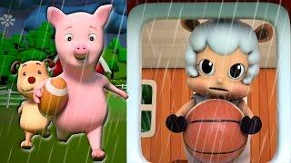 có mưa có mưa đi cách xa | ươm vần | Preschool Kids Song | 3D Nursery Rhyme | Rain Rain Go Away