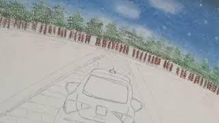 Dibujando con Azor y colores pastel terra y Ekuz