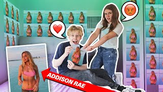 I Filled My BOYFRIENDS Room With Pictures of His TIK TOK Crush **PRANK**🔥| Piper Rockelle