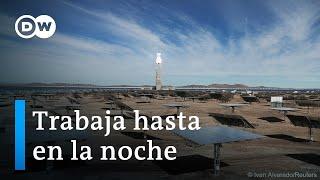 Primera planta de energía termosolar de América Latina inaugurada en Chile