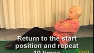 Back Strengthening Exercise For Seniors -  Sit-Backs
