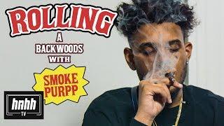 How To Roll A Backwood With Smokepurpp