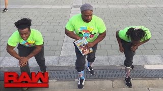 WrestleMania hosts The New Day prepare for The Ultimate Thrill Ride: Raw, March 27, 2017
