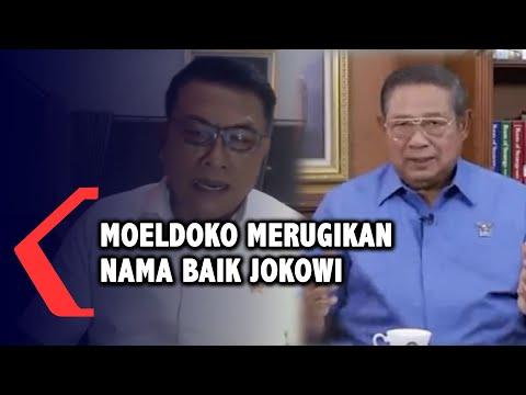 SBY Bilang Moeldoko Merugikan Nama Baik Jokowi, Ini Alasannya