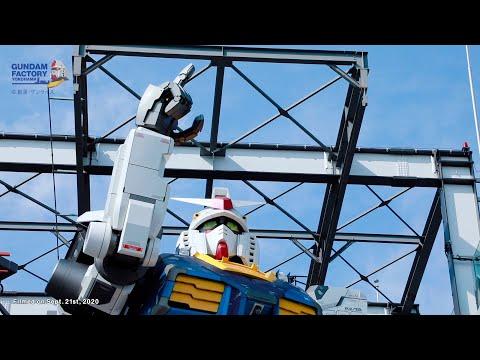 橫濱實物大可動「RX-78F00 鋼彈」12月19日正式屹立於大地!