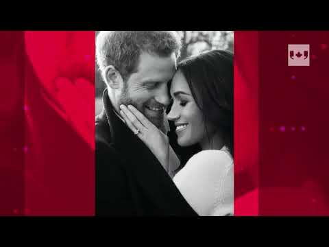 Prince Harry and Meghan Markle reveal engagement photos