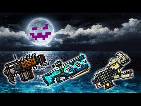 Hedgehog + Antivirus + Primal Beast  - Pixel Gun 3D