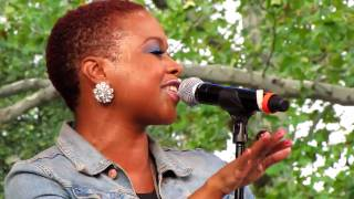 Chrisette Michele, Porcelain Doll, Central Park Summerstage, NYC 8-21-10
