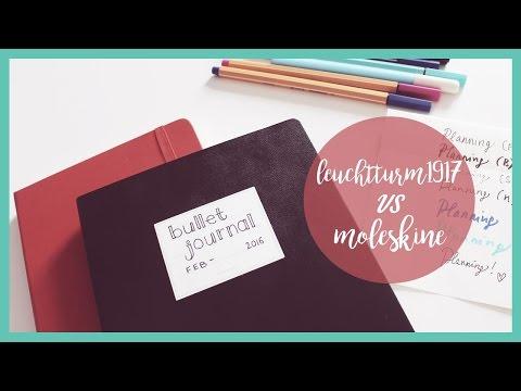 LEUCHTTURM VS MOLESKINE: scopriamoli insieme! | Qualcosa di Erre