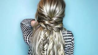How-to - Half Up Half Down Boho Hairstyle Tutorial