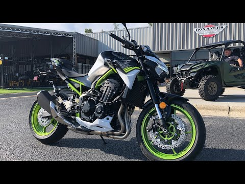 2021 Kawasaki Z900 ABS in Greenville, North Carolina - Video 1
